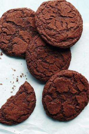 Forró csoki keksz