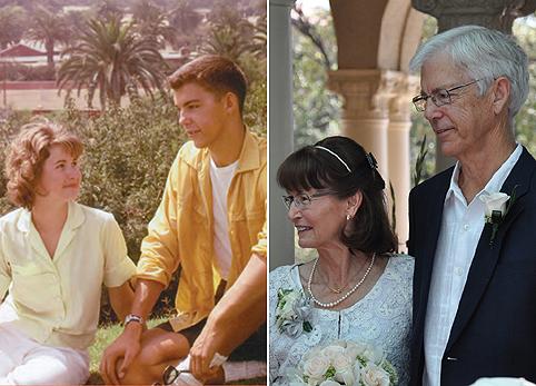 50 évet késett az esküvő