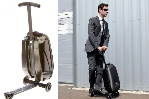 Bőrönd és robogó egyben