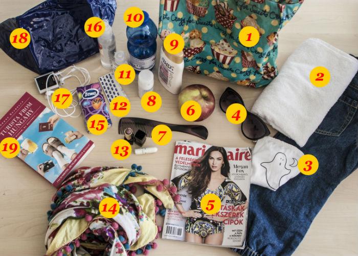 [másolat] - 10 dolog, ami nem hiányozhat egy nő táskájából, ha fesztiválra megy!