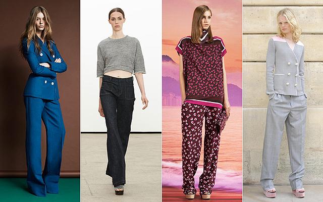 2014 a bő nadrágok és a kék szín éve lesz