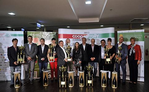 A magyar termékek hírét viszi a Coop Rally