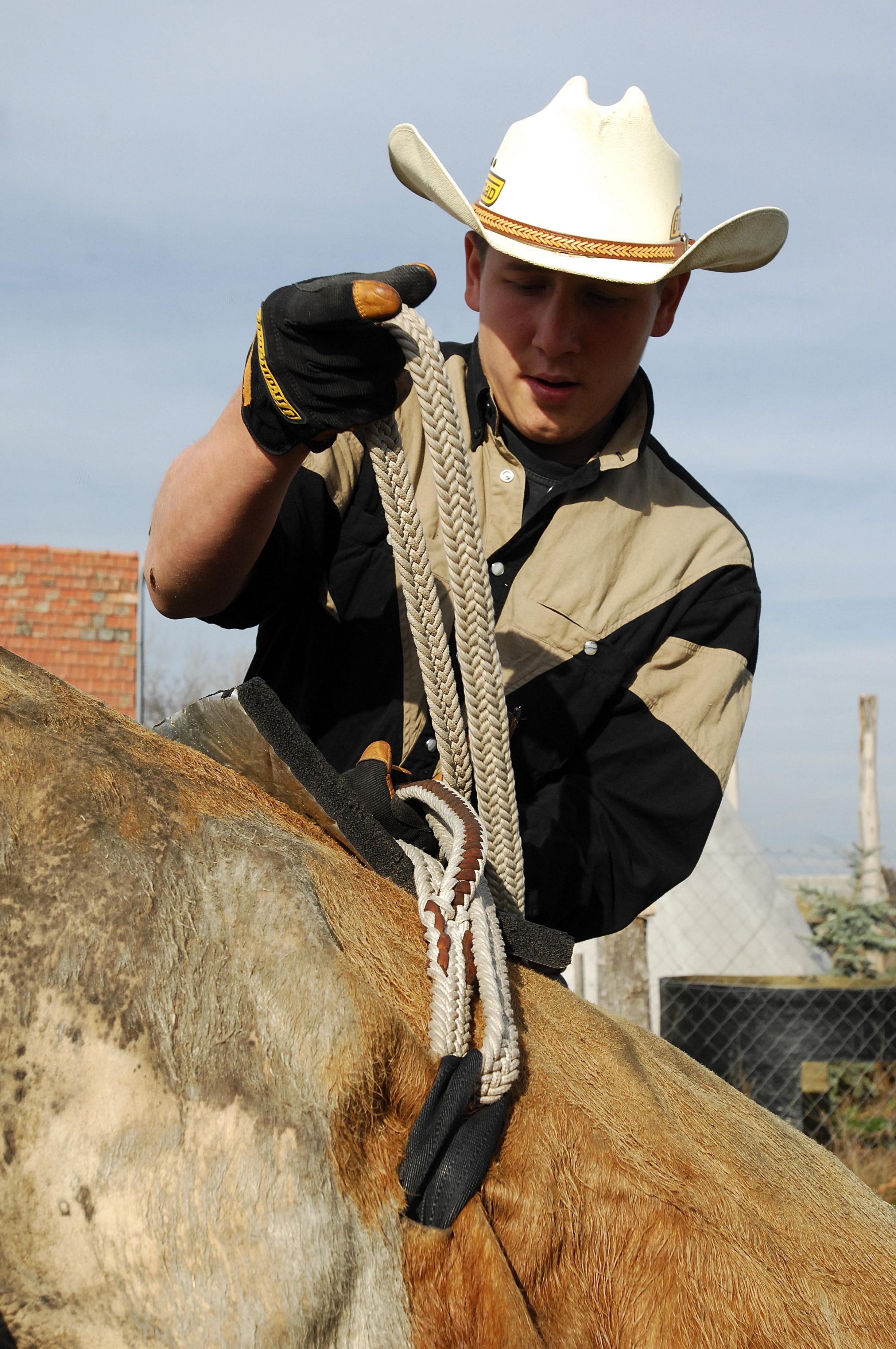 20 éves magyar fiatalember a rodeó Európa-bajnok!