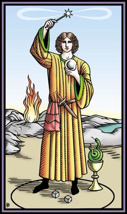 Tarot: mágus, főpapnő