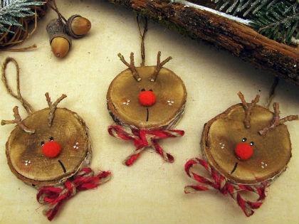 Csináld magad: rénszarvasos karácsonyfadísz