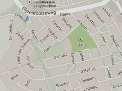 Minden utcanév a Gyűrűk urából válsztva egy holland városban