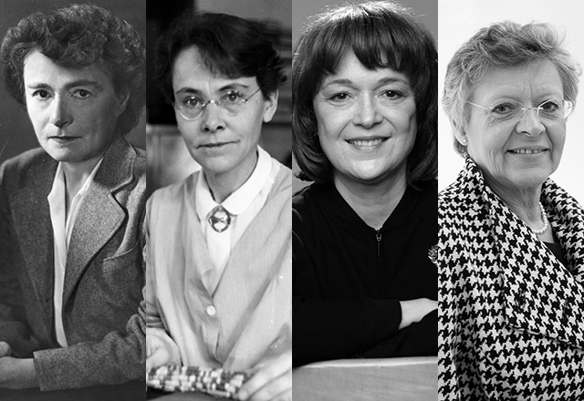 Gerty Cori, Barbara McClintock, Linda Buck, Francoise Barré-Sinoussi