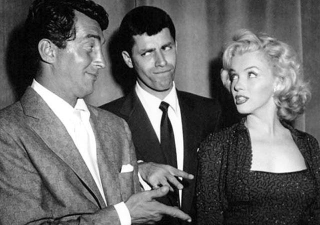 Dean Martin, Jerry Lewis és Marilyn Monroe