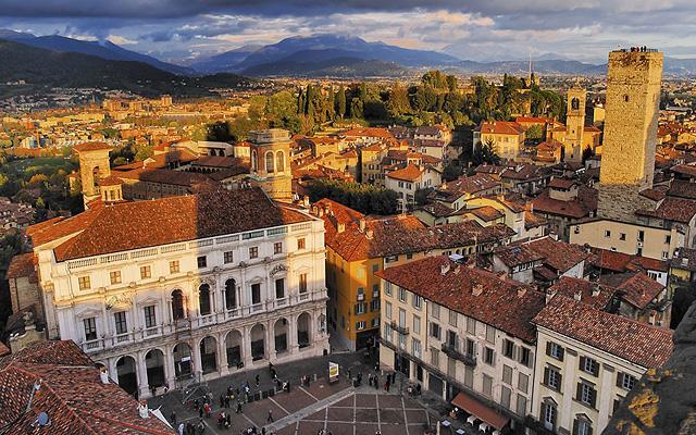 A tornyok városa - Bergamo