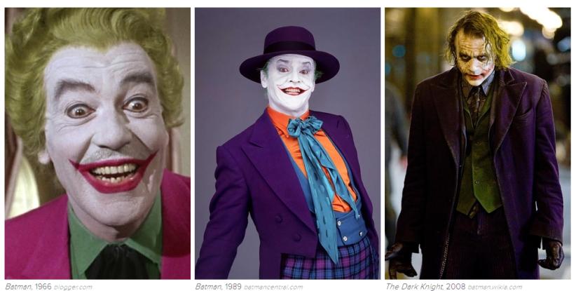 Joker: 1966, 1989, 2008