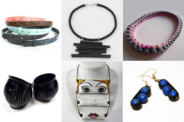 Övek: Judit Takács, fás nyaklánc: YAYA, textilnyaklánc: Musume, karkötők: Zwana, arcos lánc: Koria Design, fagolyós fülbevaló: 1MinD1