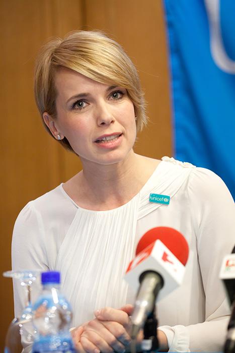 D. Tóth Kriszta az új UNICEF-nagykövet