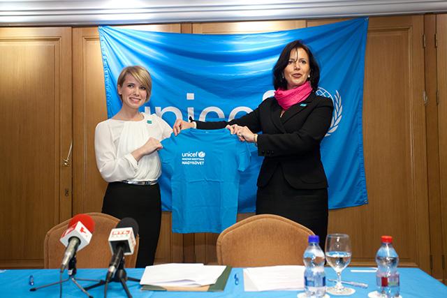 D. Tóth Kriszta az új UNICEF Nagykövet