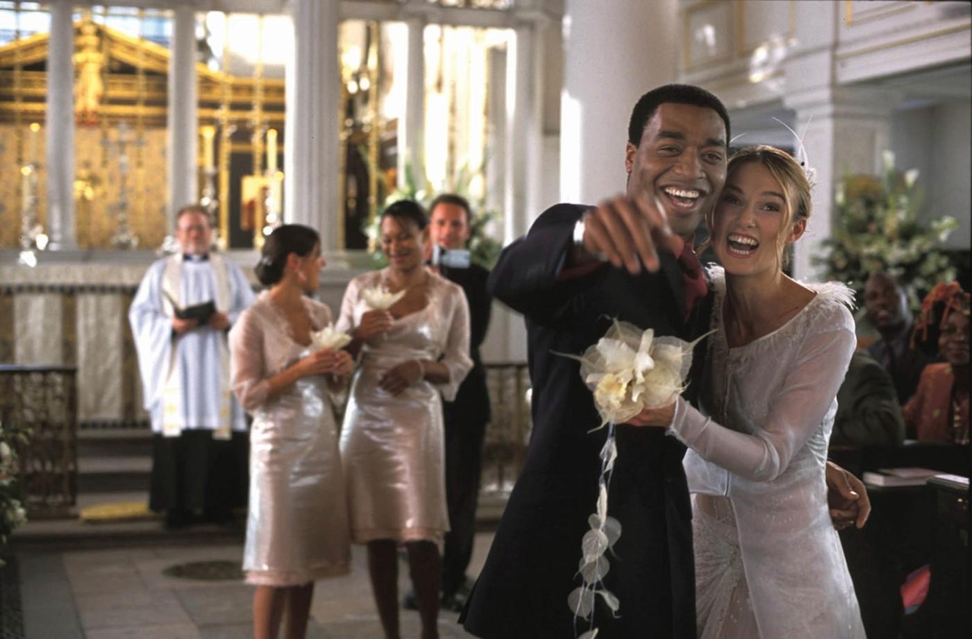 A tíz leggyönyörűbb filmes esküvő