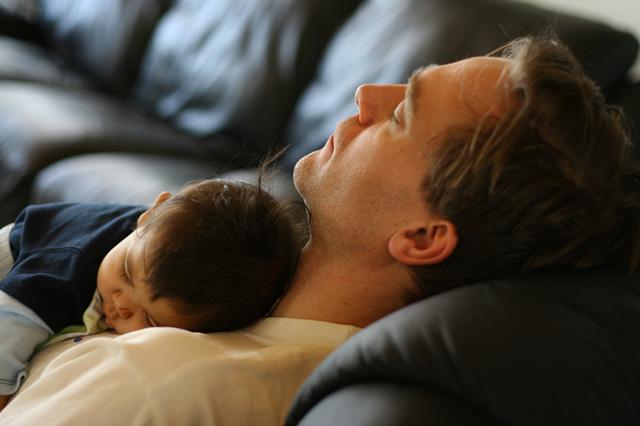 A férfiak félnek a kisbabáktól