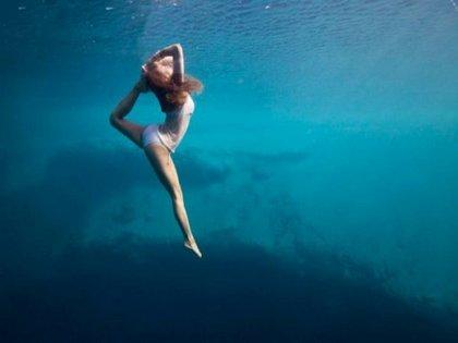 Jóga a víz alatt