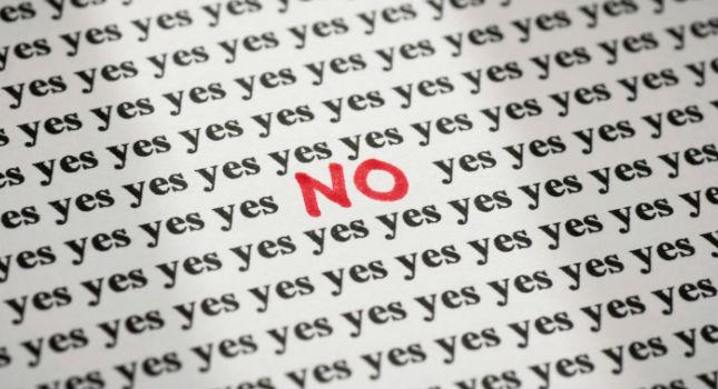 Merj néha nemet mondani!