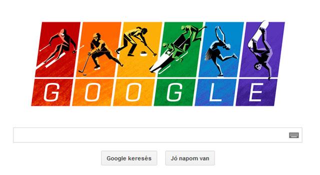 A meleg közösség szivárványszíneiben pompázik a Google logója