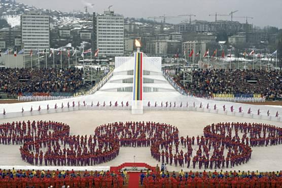 Olimpiai stadionból háborús temető