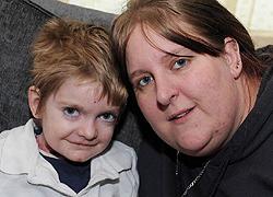 Rhys és édesanyja