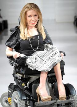 Először szerepelt kerekes székes modell a New York-i divathéten