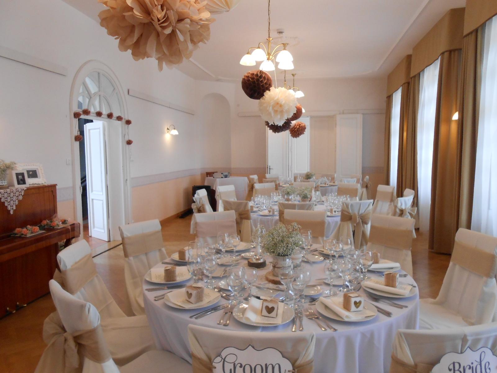 Káprázatos esküvői dekorációk