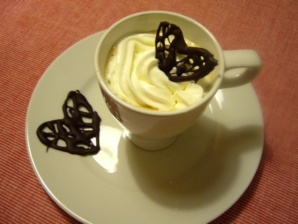 Last minute csokiszív