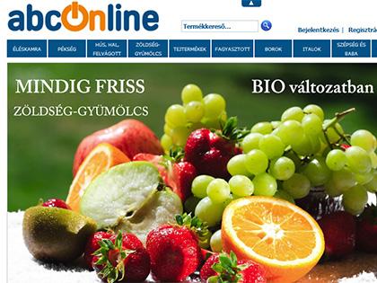Az ABCOnline-nál bőven kapunk bioterméket