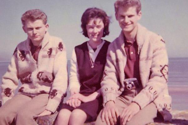 Mike, Patrick és a neje, 1966-ban