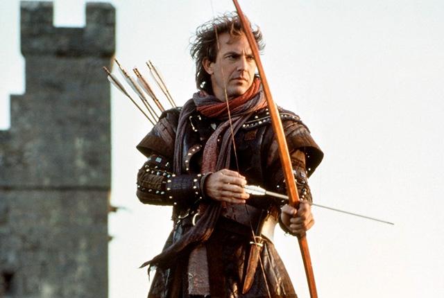 Kevin Costner, Robin Hood szerepében