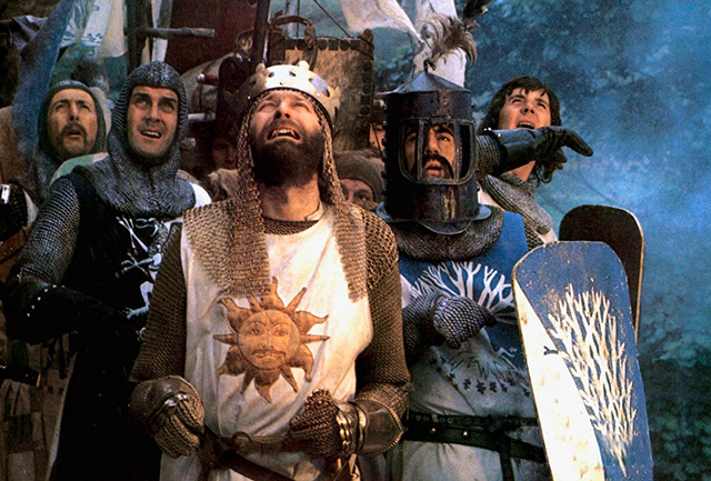 Artúr király és a lovagok (Monty Python: Gyalog Galopp)