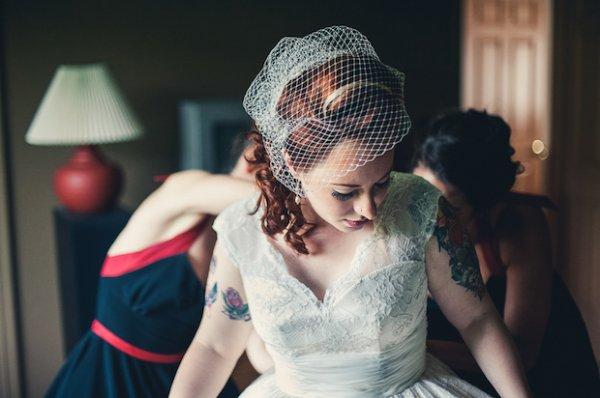 Ha tetovált a menyasszony