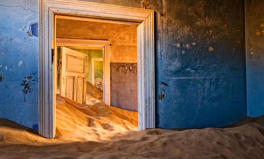 Kolmanskop – a halott gyémántváros