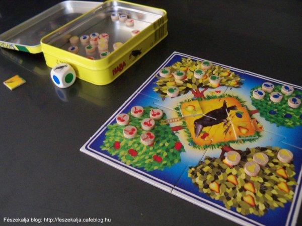 Gyümölcsöskert: szuper társasjáték a kicsiknek