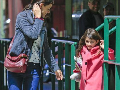 Színésznek tanul Katie Holmes kislánya