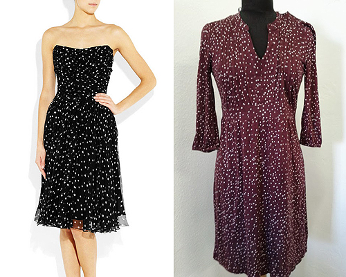 Dolce&Gabbana selyem ruha – M&Co csillagos pamut ruha – Angex