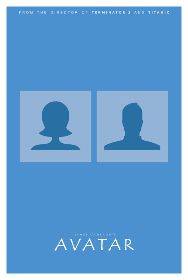 Filmplakátok szó szerint értelmezve - fotók