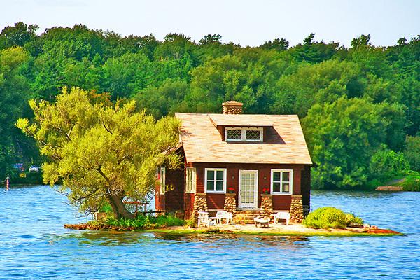 Különleges mini szigetek
