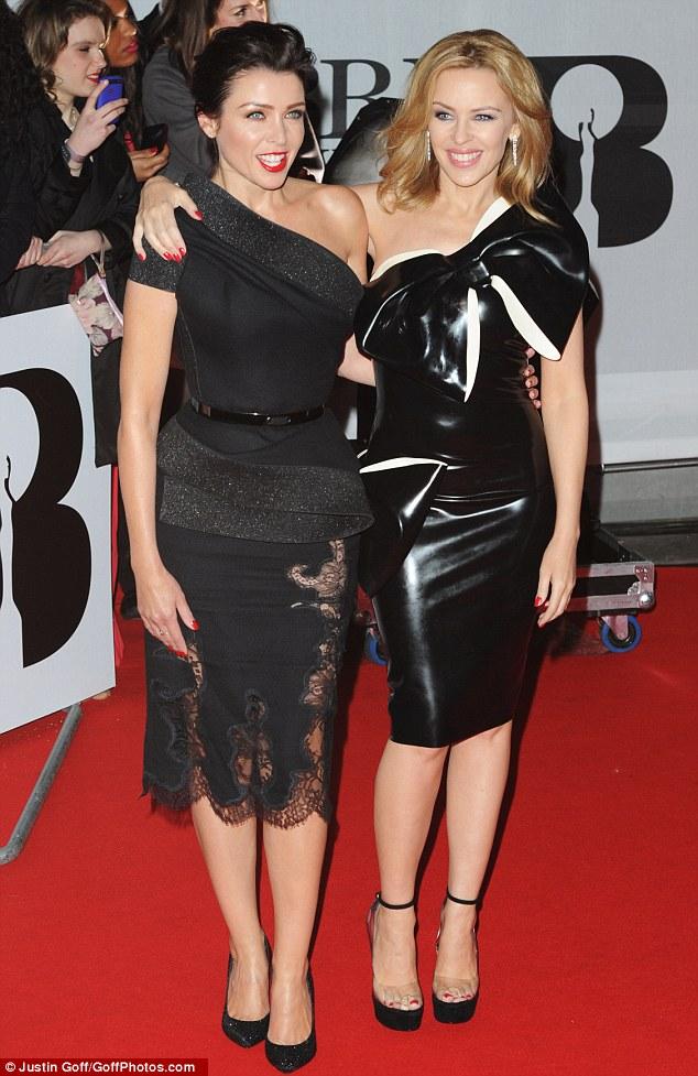 Brit Awards díjátadó - Divat Minogue módra