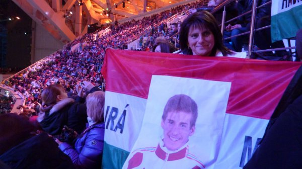 Szurkoló anya az olimpián