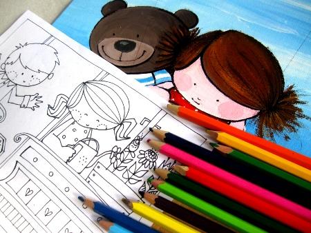 Letölthető színezők gyerekeknek