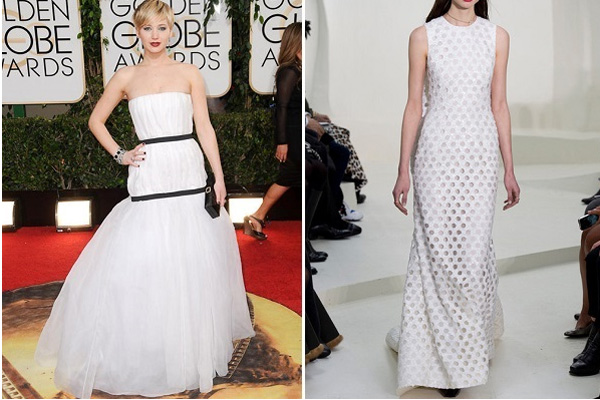 Jennifer Lawrence, Dior couture