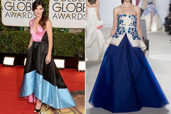 Sandra Bullock, Giambattista Valli couture
