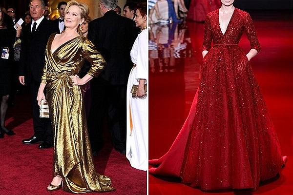 Meryl Streep, Elie Saab couture
