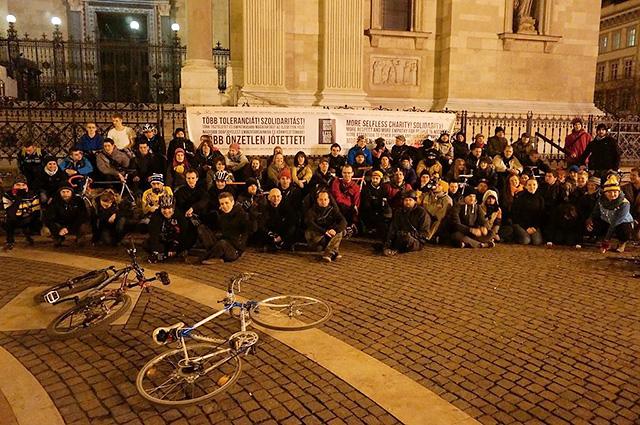 Forrás: Facebook/Budapest Bike Maffia