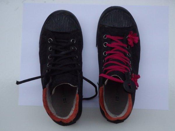 Egy fiús cipő átalakulása