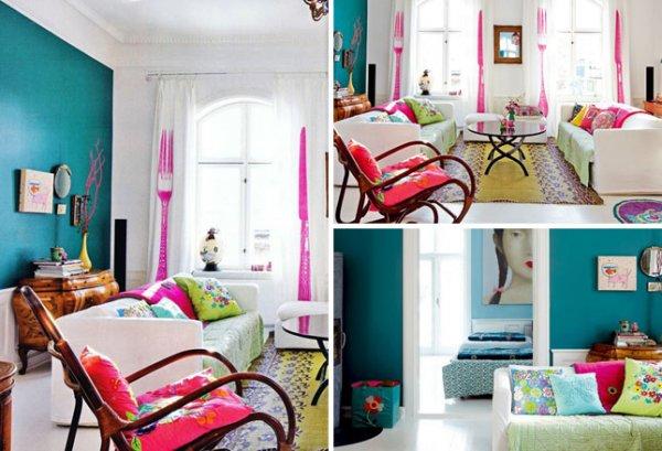 10+1 színes, tavaszi nappali