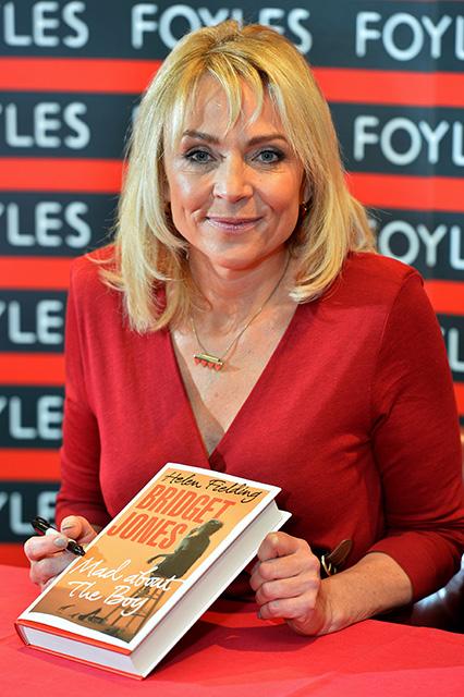 Helen Fielding a Bridget Jones könyvek írója