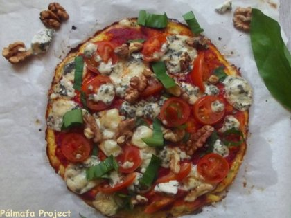 Pizzatészta helyett karfiol
