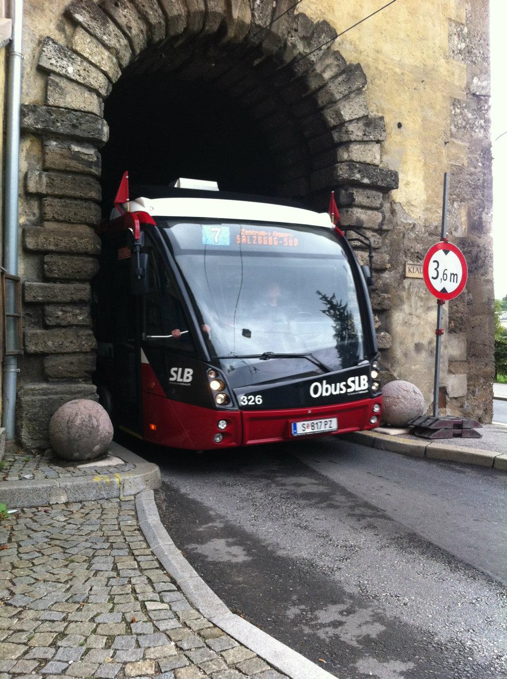 A tömegközlekedés Salzburgban
